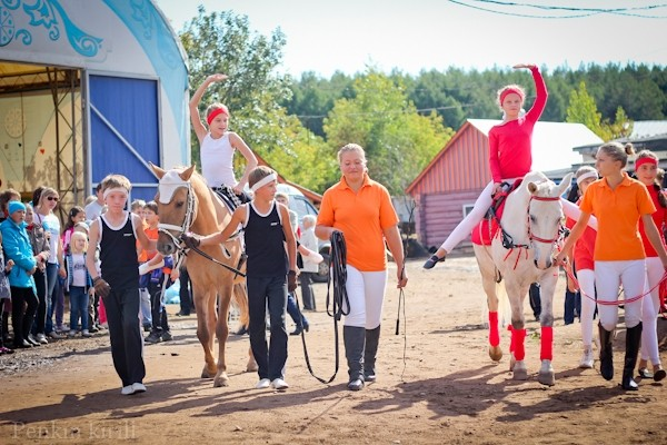 Horse day celebrated in Bashkiria