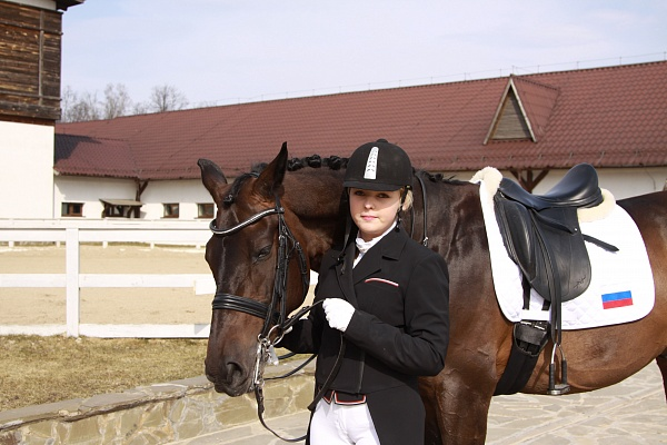 Daria Marchenko about Equestrian sports and her love to horses
