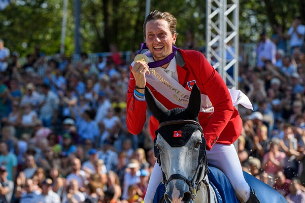 Martin Fuchs is new European Jumping Champion 2019