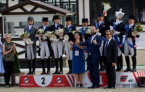 RUSSIAN DRESSAGE TEAM WON THE COMMAND LICENSE FOR OLYMPIC GAMES IN TOKYO
