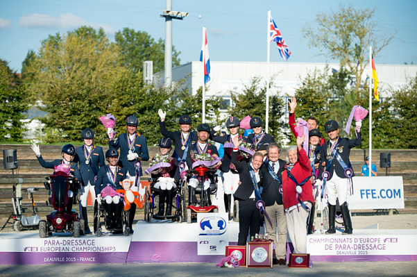 FEI European Para-Equestrian Dressage Championships: Great Britain top team while Netherlands celebrate individual successes