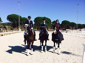 Dressage Masters competing for 100 000 Euro in Vidauban