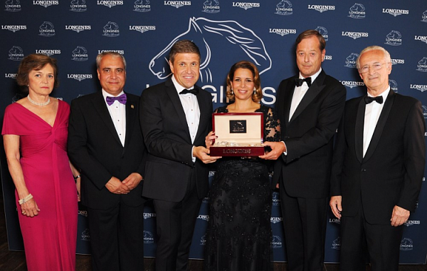HRH Princess Haya honoured with 2015 Longines Ladies Award