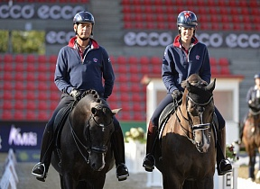 Equestrian stars gathered in Denmark