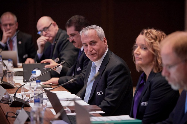FEI President opens in-person Board meeting at FEI General Assembly 2019